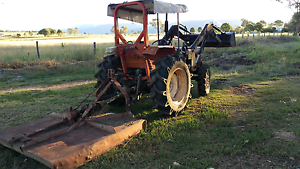 Kubota 42HP 4x4 with 6ft slasher Rosevale Ipswich South Preview