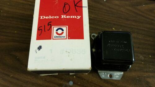 NOS 1971 1119515 0K October 1970 Delco Remy Voltage Regulator Corvette 515 70/71