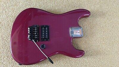 1980s Fender MIJ Japan Stratocaster guitar body Kahler tremolo Tom Delonge