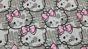 hello kitty stoff jetzt online bei ebay entdecken ebay. Black Bedroom Furniture Sets. Home Design Ideas