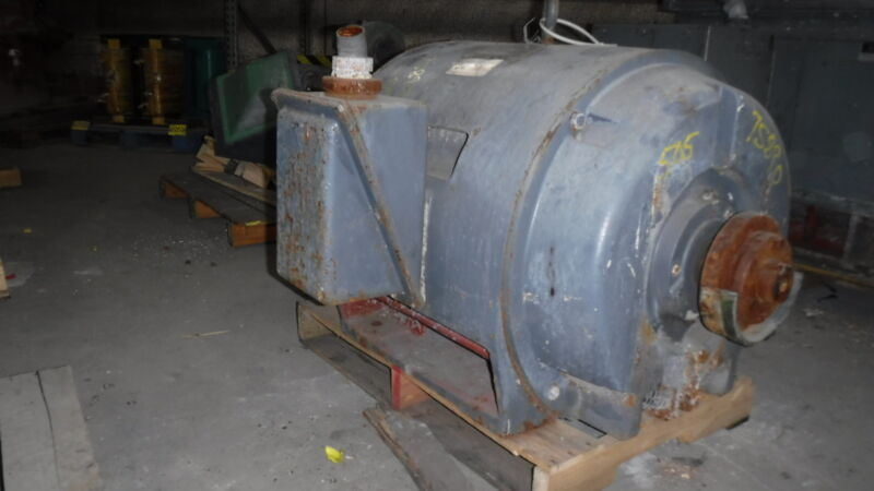 200 HP Siemens Electric Motor, 1800 RPM, 505US Frame, DP, 2300 V, 1.15 S.F.