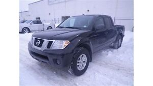 2017 Nissan Frontier SV  4X4  Crew CAB  6 CYL  LOW KMS!!!