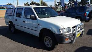2000 Holden Rodeo LXV6 3.2L Dual Cab Ute AUTOMATIC Waratah Newcastle Area Preview