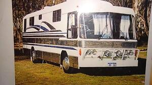 Bedford Luxury Bus sleeps7 and has room for Suzuki or motor bikes Gulgong Mudgee Area Preview