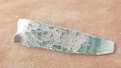 Very rare Saxon bronze sword belt decoration. Please read description. L107h