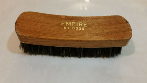 VINTAGE EMPIRE 51-0529 MADE IN ISRAEL SHOE BRUSH PRE-OWNED