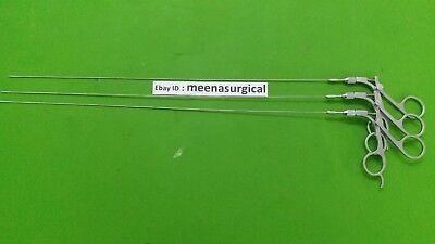 3pc Hysteroscopy Semi Regid Scissor 5fr 40cm Laparoscopic Surgical Instruments