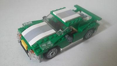 JOUET LEGO CREATOR - VOITURE VERTE 3 en 1 - SET 6743 AVEC NOTICES