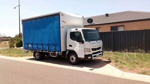 2012 Mitsubishi fuso canter 815 with work 2.5k week