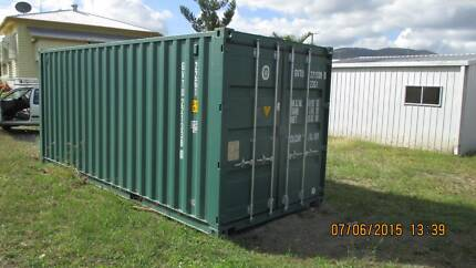 Shipping Container 20ft As New Single Use Berserker Rockhampton City Preview