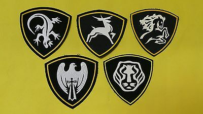 RUSSIAN ARMY PATCH SET OF 5 - FREE SHIPPING