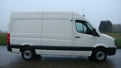 61 REG VW CRAFTER CR35 MWB HIGH ROOF REFRIGERATED FRIDGE FREEZER VAN 136 BHP