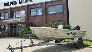 1989 STACER RIVERRA OPEN/DINGHY/RUNABOUT ALUMINIUM Buderim Maroochydore Area Preview