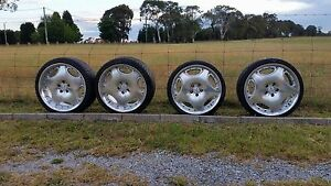 Lorinser LM1 staggered Rims and tyres Wallerawang Lithgow Area Preview