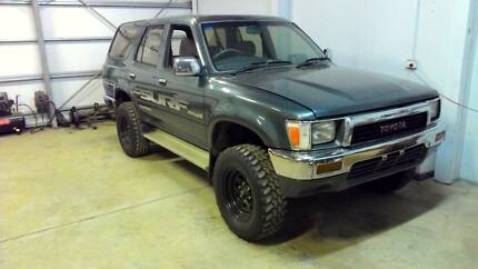 WRECKING 1990 TOYOTA HILUX SURF 5SPEED 2.4 TURBO DEISEL Holden Hill Tea Tree Gully Area Preview