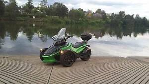 2012 Can-Am Spyder RSS SM5 [MY2012] Warrimoo Blue Mountains Preview