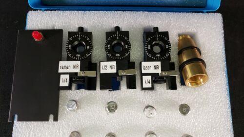 Melles Griot Near Infrared Laser Raman Spectroscopy Rotating Wave Plate Kit NIR