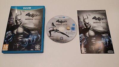 Batman Arkham City Armoured Edition (Nintendo Wii U) European Version PAL segunda mano  Embacar hacia Spain