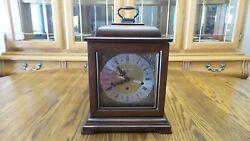 Howard Miller 612-429 Samuel Watson - Mantel Clock- 1980 - Beautiful Cherry Wood