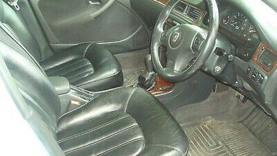 rover 45 mg zs saloon full leather seats black