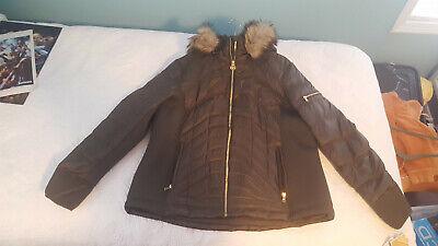 NWT - MICHAEL KORS Womens Down Puffer Jacket Coat OLIVE - XXL - $180
