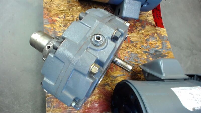 Size 2 Shaft Mounted Gear Reducer 24:1 Ratio