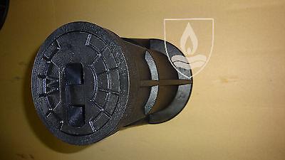 Straßenkappe Kunststoff NEU für Hausanschluß DIN 4057 inkl. Trageplatte