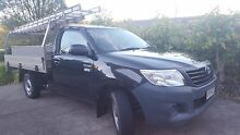 2011 Toyota Hilux Ute TGN 16R MY12 Workmate Upper Coomera Gold Coast North Preview