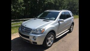 2008 Mercedes-Benz ML550 5.5L SUV, Crossover