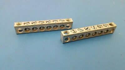 Ground Bar Neutral Bars For 4-14 Awg 8 Position 4-14818 Nsi Brumall