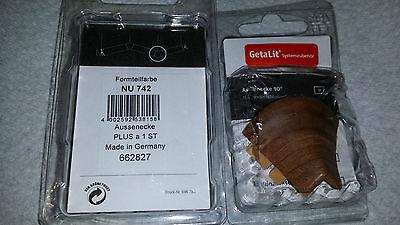 Fußleisten Sockelleisten Laminatleisten Aussenecke  NU 742  GetaLit Bahr 662827