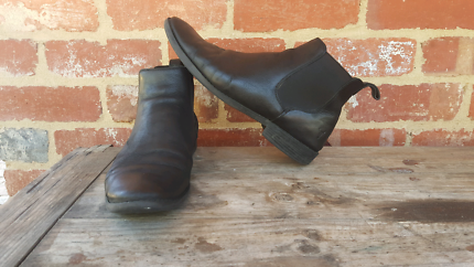 Windsor Smith Black Leather Slim Chelsea Boots Us 10 11