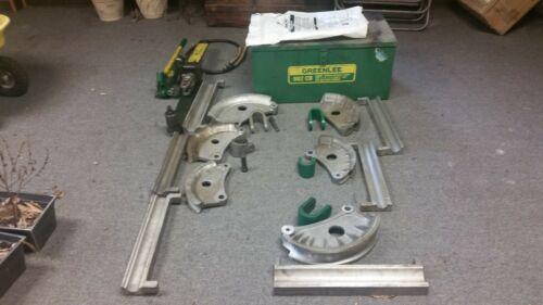 "Greenlee 882-CB Flip Top Hydraulic Pipe Bender 1-1/4""- 2"" Rigid, imc, emt"