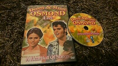 Donny And Marie Osmond Live A Heartfull of Songs (DVD 2005) ()