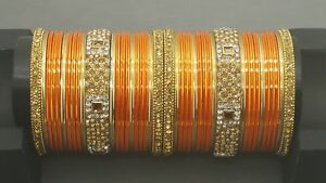 Very Elegant Indian Bollywood Style Party Wear Pearls Bangle Set
