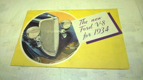1934 Ford Original Sale Advertising