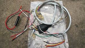 Honda Scrambler 250 CL72 305 CL77 Wire Harness A&B NEW Hi-Quality all type use