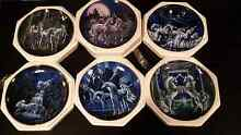 Franklin mint heirloom, royal doulton unicorn plate collection Empire Bay Gosford Area Preview