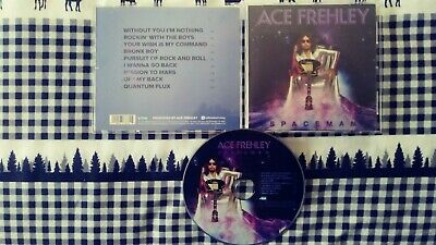 Ace Frehley--Spaceman CD 2018   Kiss  Gene Simmons  Paul Stanley