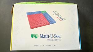 Math-U-See Manipulatives Integer Block Kit Riverton Canning Area Preview