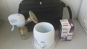 Electric Breast pump + Bottle warmer+baby Bottlel Woolloomooloo Inner Sydney Preview