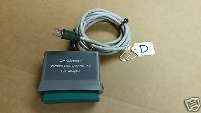 Lotd Omniscanner Microtest Panduit Giga-channel Tx-6 Link Adapter