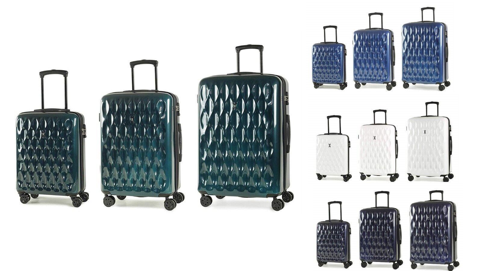Rock Diamond Hardshell 8 Wheel Luggage Spinner Cases