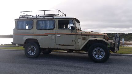 Toyota landcruiser troopy hj47 diesel aircond. Lonsdale Morphett Vale Area Preview