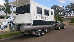 Unique-Houseboat-Caravan-on-trailer-with 2 large slide-outs Noosaville Noosa Area Preview