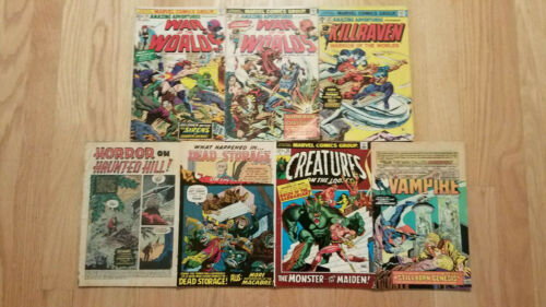 Marvel Horror/Sci-Fi lot...21 issues;Silver+Bronze-Age...Creatures,Monsters,Fear
