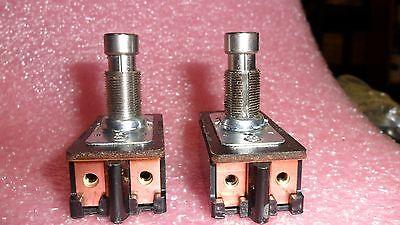 1 Per Lot Push Button  Switch Dpdt Teconnectivity Mpn 7229k2 1520150-1