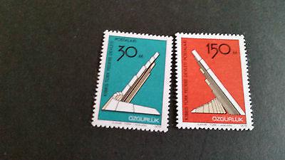 TURKISH CYPRUS 1976 SG 47-48 LIBERATION MNH