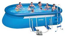 Swimming pool. New INTEX 20' x 12' steel frame/inflatable pack. Frankston South Frankston Area Preview