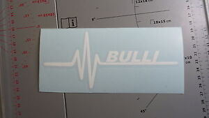 Herzschlag BULLI Auto Aufkleber Sticker Tattoo vw Bus NR 089